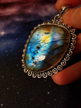 Multi-Colored Labradorite Pendant || 156 carat