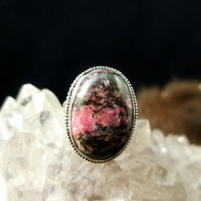 Lovely Pink Rhodonite Rings (Various Sizes) || Heart Chakra || Healing