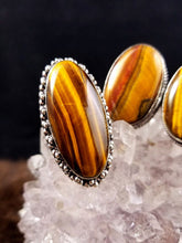 Grounding Tigers Eye Rings || Set One || Protective || Strength - 9