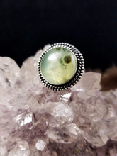 "Stunning Prehnite Ring (Size 9) ""Heal the Healer"""