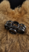 Mens Magnetic Hematite Rings (Sizes 10,11,12,13)