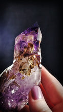 Stunning Smokey Elestial Amethyst || Madagascar || Grape Purple Inclusions