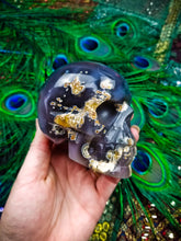 Unique Agate Sunken Treasure Skull || Madagascar ||  Hand Polished