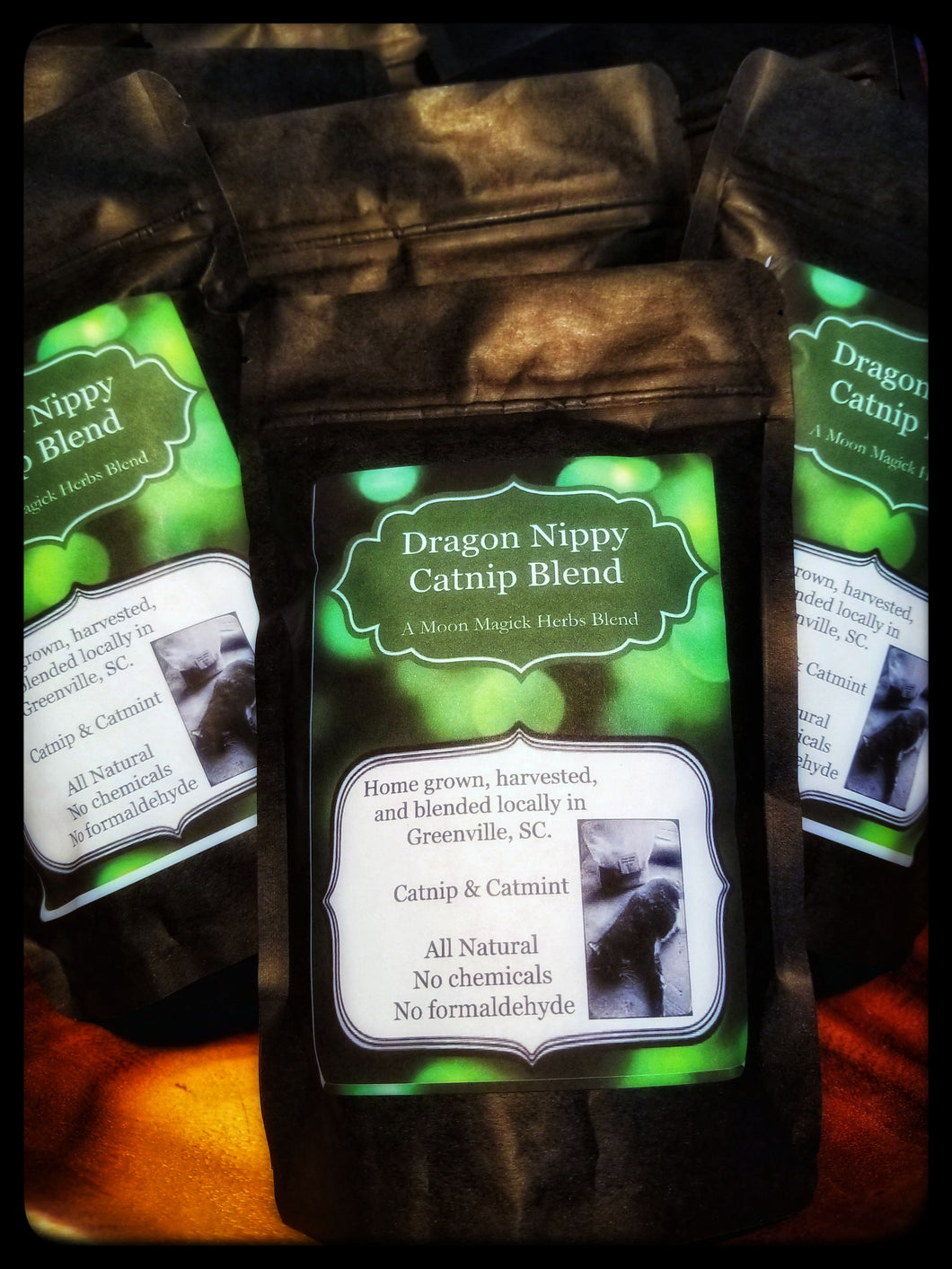 Dragon Nippy Catnip Blend || HomeGrown || Hand Blended || All Natural || No Chemicals || Kitty Tested