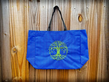 Tree of Life Embroidered Essential Tote w/Water Bottle Holder (Custom Options)