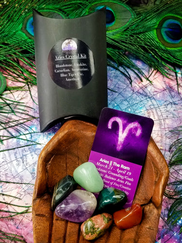Aries Zodiac Crystal Kit || Astrology || The Ram