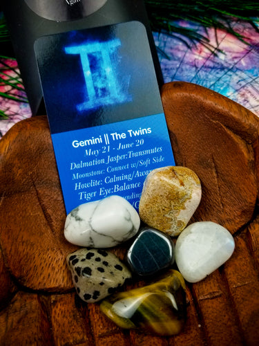 Gemini Zodiac Crystal Kit || Astrology || The Twins