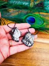Elite Shungite Pendant  || 2 Sizes || EMF Protection || Healing || Ancient Stone
