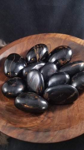 Black Tourmaline Hematite || Rare || Protection || Grounding