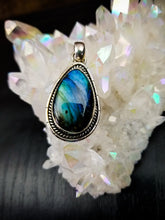 Labradorite Pendant || Sterling Silver || No. Five