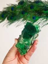 Cubic Fluorite Cluster || Green || Discourages Chaos || Balance || #3