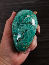 XL Graphic Amazonite Palm || Smokey Inclusion  || #3 || Madagascar ||