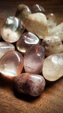 Lithium Included Quartz || Crystal Tumble ||