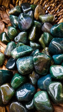 Moss Agate || Crystal Tumble || Abundance || Self-esteem