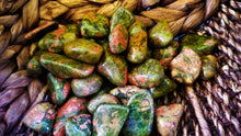 Unakite || Aligns emotional and spiritual bodies || Blockage release
