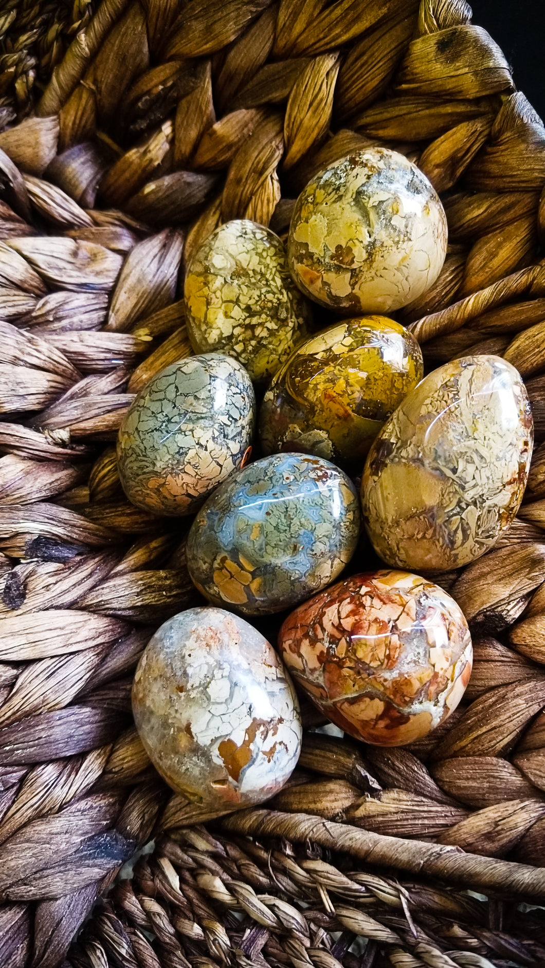 Ibis Jasper Stones || Multiple Sizes|| Ancient knowledge || Trauma