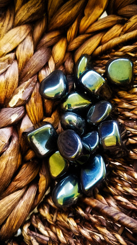 Hematite Tumbled Crystals || Balance || Grounding || Protective