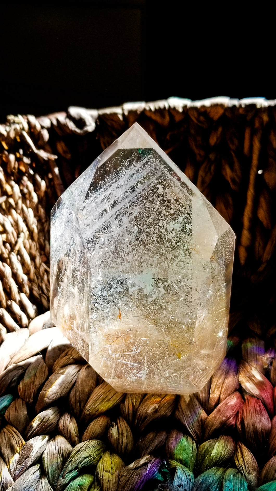 Rutilated Phantom Clear Quartz ||| Epic Quality || Brazil || #13