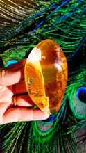 Brazilian Inclusion Quartz Lens ||| AAA Quality  || Rainbow and Iron Inclusion || #77