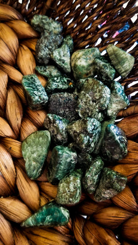 Seraphinite Crystal Tumble ||