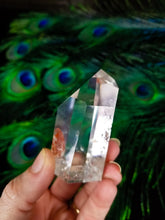 Brazilian Channeler Fire Quartz Point ||| AAA Quality  || Iron Hematite || #19