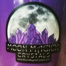 Moon Magick Crystals Vinyl Sticker