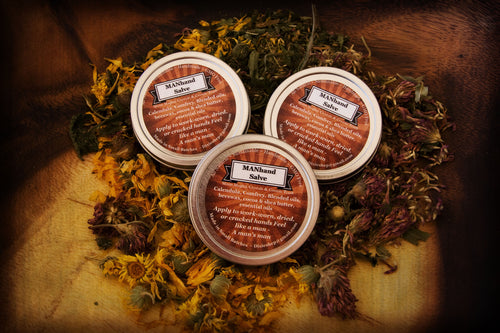 MANHand Self-Care Salve with Cocoa and Shea Butter