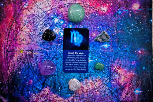 Virgo Zodiac Crystal Kit || Astrology || The Virgin