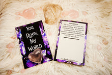 Crystal Valentine/Greeting Cards (Four Design Options)