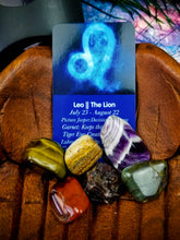 Leo Zodiac Crystal Kit || Astrology || The Lion