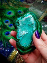 Malachite Chrysocolla  || No. G || Stone of Transformation
