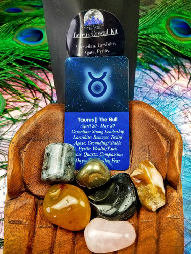Taurus Zodiac Crystal Kit || Astrology || The Bull