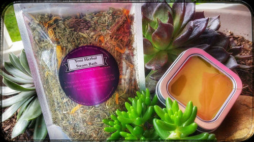 Goddess Care Kit ( Yoni Steam & Lady Balm )