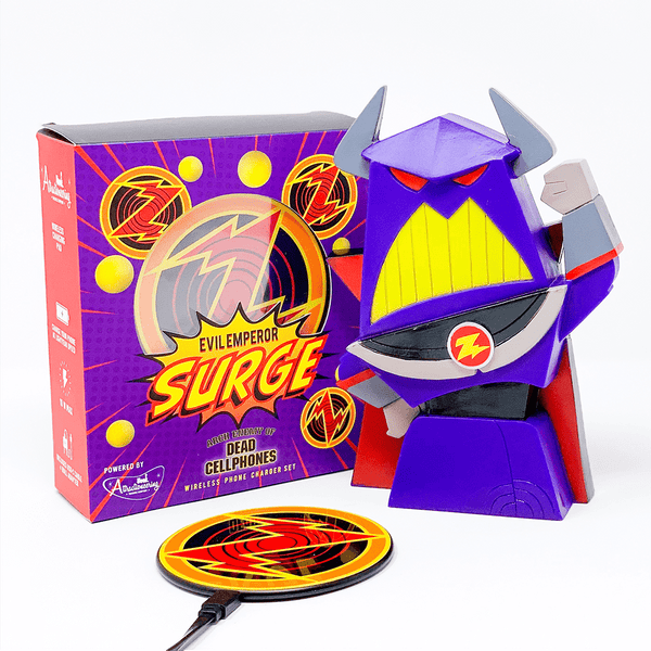 Evil Emperor Surge Wireless Phone Charging Kit - Park Candy