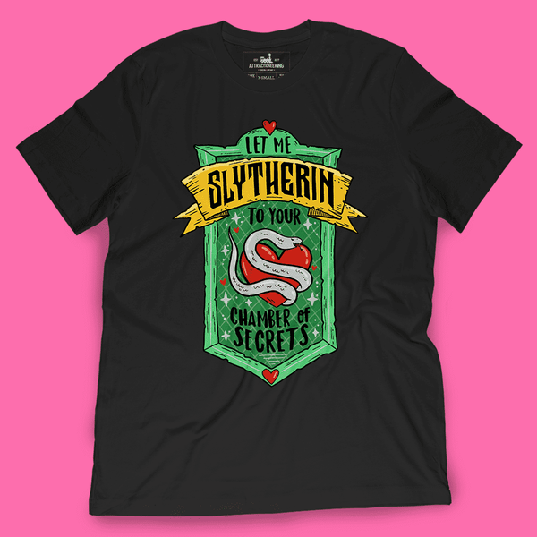 Let Me Slytherin Shirt - Attractioneering Trading Co.