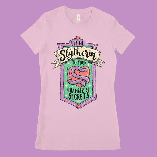 Slytherin Cutie Women's Shirt - Attractioneering Trading Co.