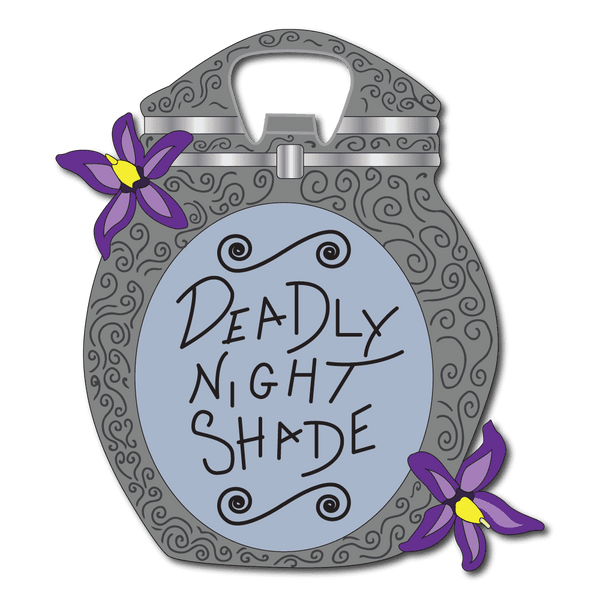 Bottle Opener - Deadly Nightshade Bottle Opener