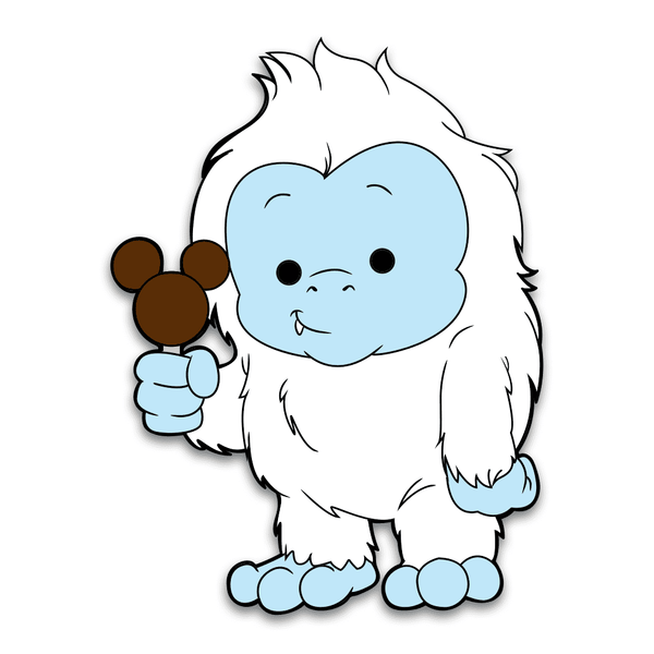 Harold the Yeti Pin - Adorable Horrible Pin - Attractioneering Trading Co.