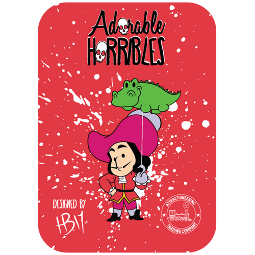 Hook's Balloon - Adorable Horrible Pin - Attractioneering Trading Co.