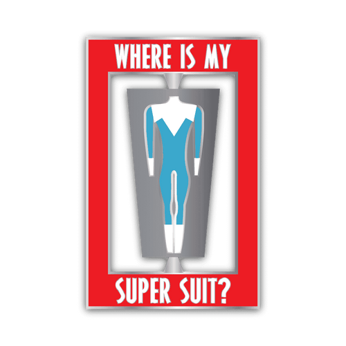 Pin - The Incredible Frozone Pin