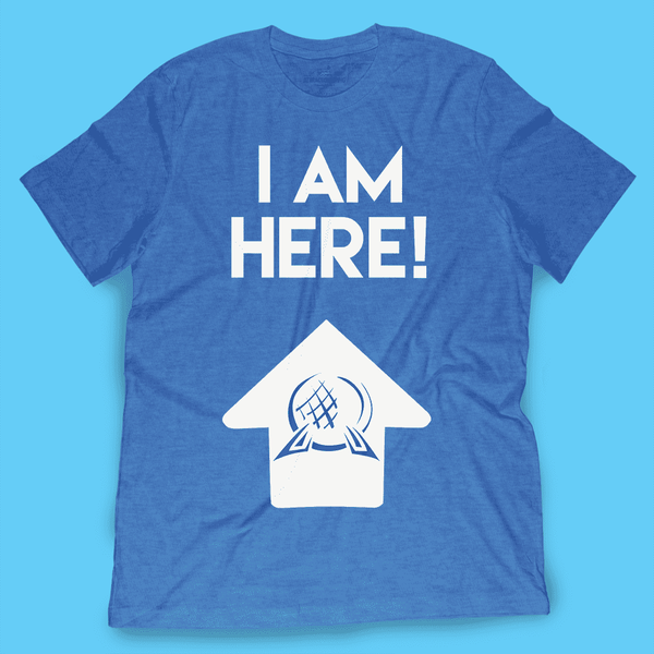 I Am Here! Epcot Shirt - TheDisneyFox - Attractioneering Trading Co.