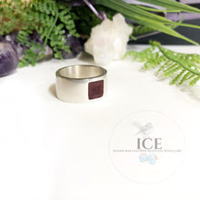 Mens Smooth Band Ring - In Sterling Silver