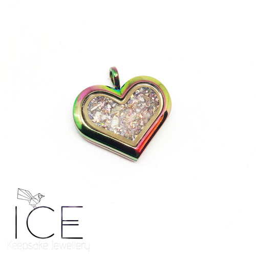 Heart Locket - In Stainless Steel