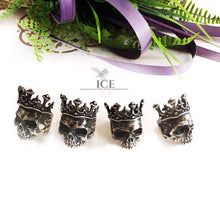 Kings Crown Signet Ring - In Sterling Silver