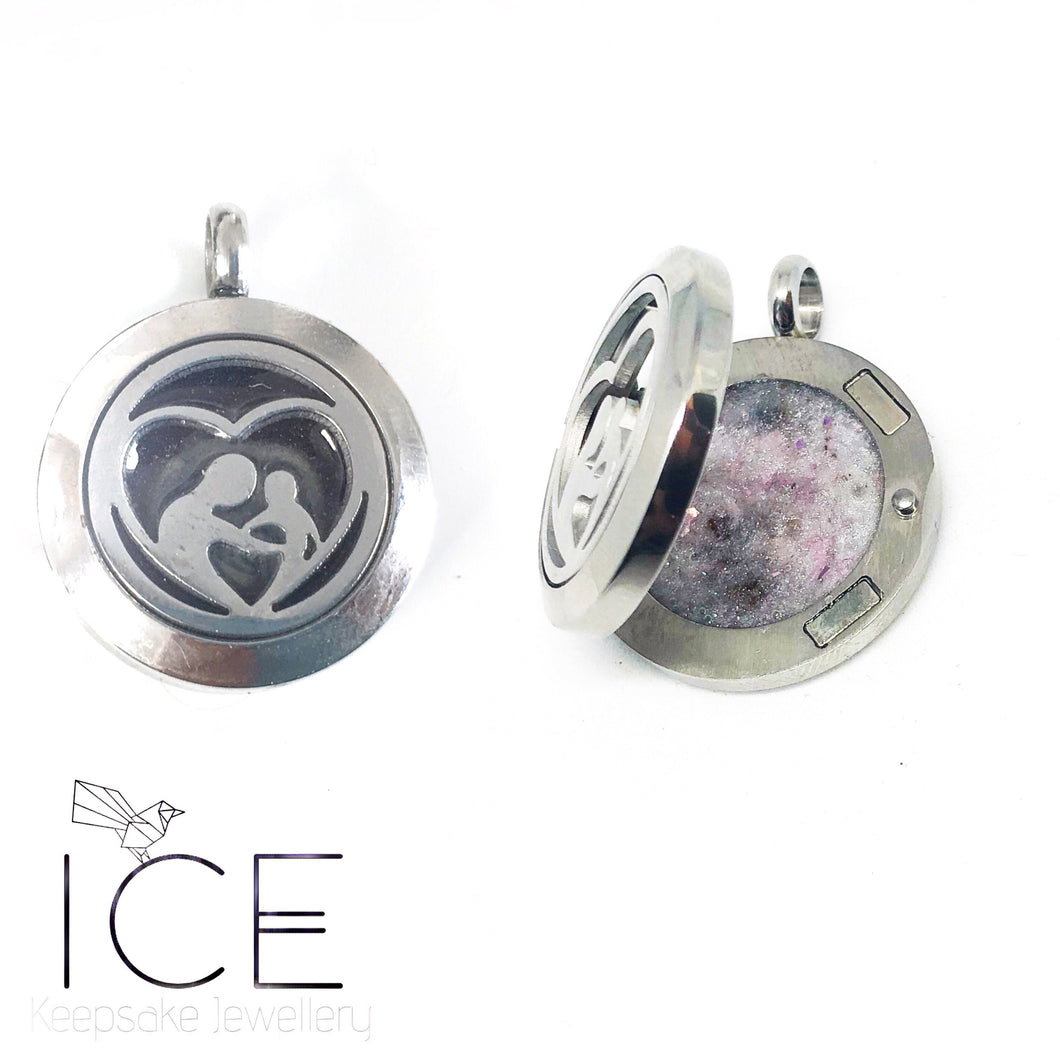 Mother Love - Stainless Steel Locket