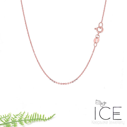 14ct Rose Gold Necklace Chain