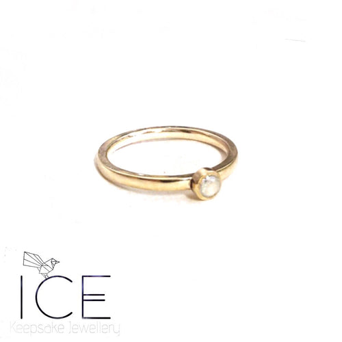 Stacking Ring - In Solid 9ct Gold