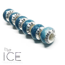 Add a Name to your Charm Bead Cap