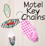 Motel Key Chains