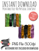 Fall Brushstroke Set